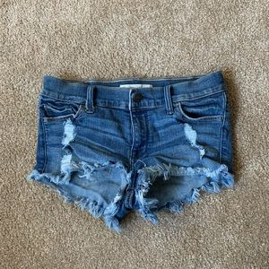 Abercrombie and Fitch jean shorts /Size 24